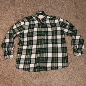St johns bay classic fit plaid button down shirt